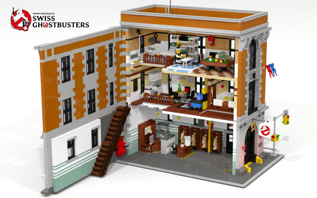 Lego Ghostbusters HQ