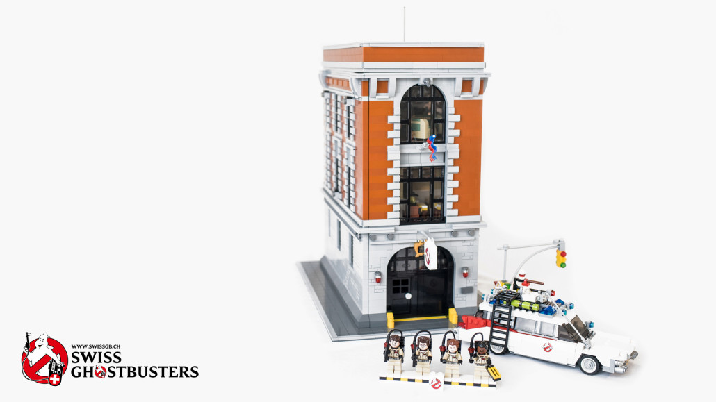 Swiss Ghostbusters Who You Gonna Call Lego Ghostbusters