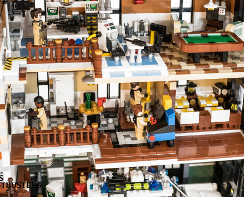 Swiss Ghostbusters Who You Gonna Call Lego Firehouse Headquarters
