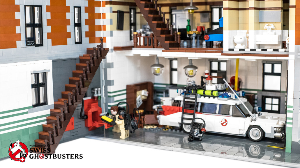 Swiss Ghostbusters Who You Gonna Call Lego