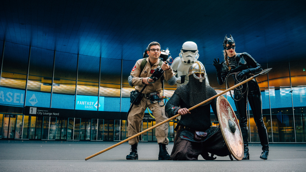 Swiss Ghostbusters - Who you gonna call? | Promo Shooting ...