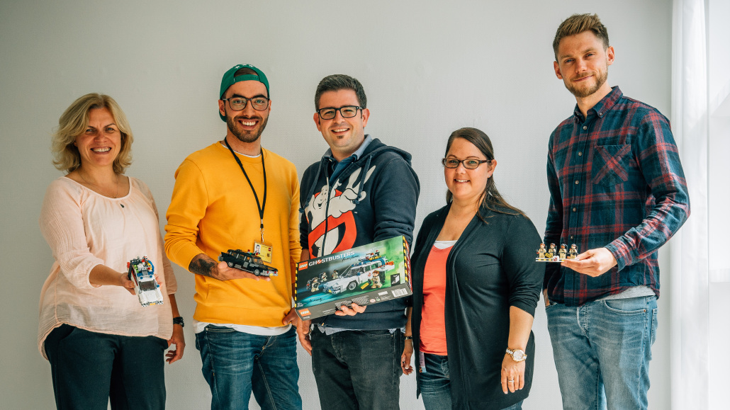 Meeting with the Lego Ideas Team & Designer Marcos Bessa and Adam Corbally