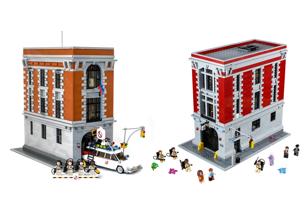 left: Sergio's GB HQ right: Lego's GB HQ